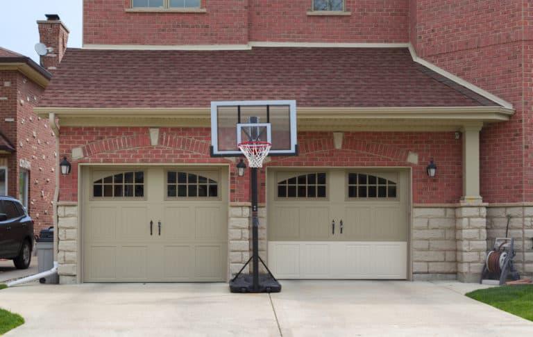 Two Single Garage Doors Vs. One Double Garage Door