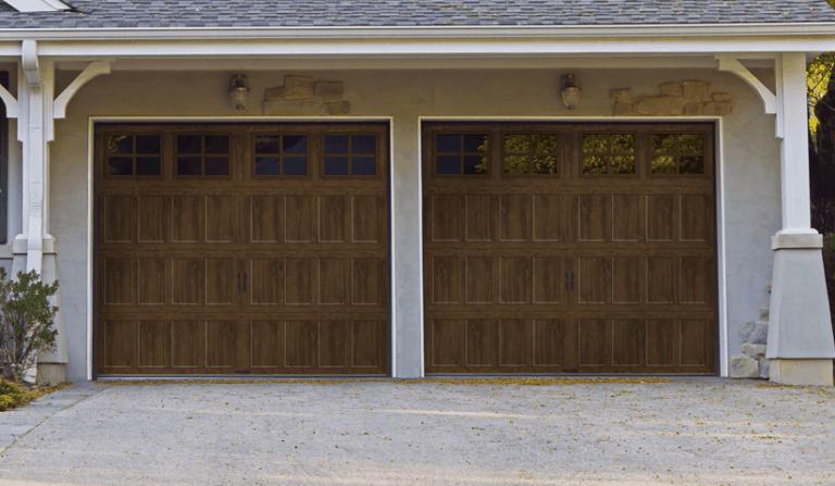 bridgeport Steel Recessed Panel Steel Insulated Shaker Style Garage Doors
